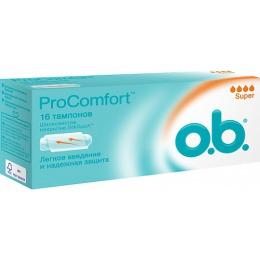 "o.b. тампоны ""ProComfort Super"", 16 шт"