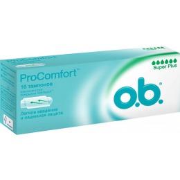 "o.b. тампоны ""ProComfort Super Plus"", 16 шт"