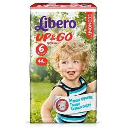 """Libero подгузники-трусики """"Up&Go"""" 13-20 кг"""