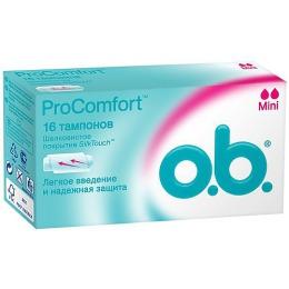 "o.b. тампоны ""ProComfort Mini"", 16 шт"