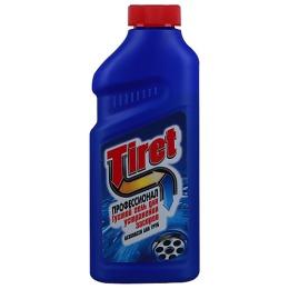 """Tiret гель для удаления засоров """"Профессионал"""" в канализационных трубах, 500 мл"""