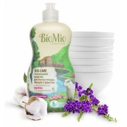 """BioMio средство для мытья посуды """"Bio-Care"""" с эфирным маслом вербены, 450мл"""