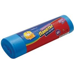 Фрекен Бок пакет для мусора, цвет синий, 10 шт