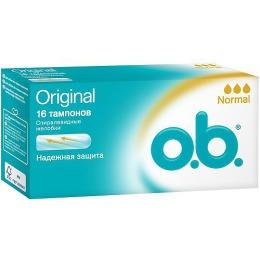 "o.b. тампоны ""Original Normal"", 16 шт"