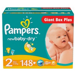 Pampers New Baby 2 (3-6 кг)