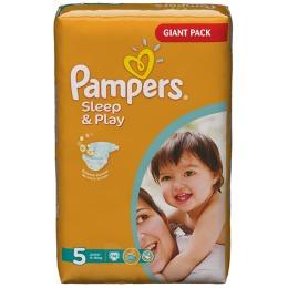 Pampers Sleep&Play 5 (11-18 кг)