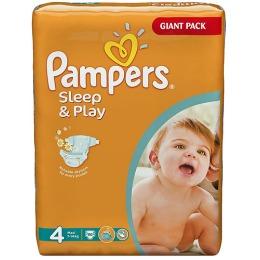 Pampers Sleep&Play 4 (7-14 кг)