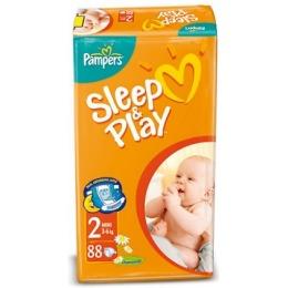 Pampers Sleep&Play 2 (3-6 кг)