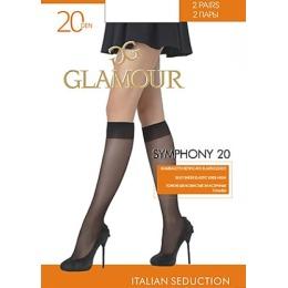 """Glamour гольфы """"Symphony. 20"""" miele"""
