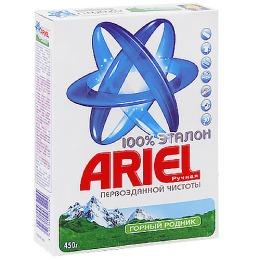"""Ariel стиральный порошок """"Горный родник"""" для ручной стирки, 450 г"""
