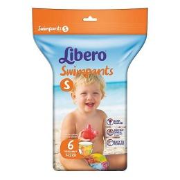 Libero подгузники-трусики для плавания 7-12 кг, 6 шт