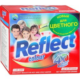 """Reflect стиральный порошок """"Color"""" концентрированный, 650 г"""