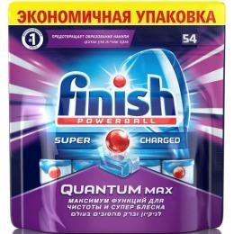 """finish таблетки для посудомоечных машин """"Quantum Max"""", 54 шт"""