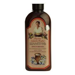 """Рецепты бабушки Агафьи шампунь """"Простокваша"""" для окрашенных волос, 350 мл"""