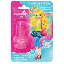 """Маленькая фея лак для ногтей """"Устойчивая формула, Сияние бриллианта"""" для девочек, 6 мл"""