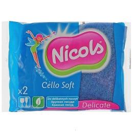 """Nicols губка кухонная """"Cello Soft"""" для деликатных поверхностей"""