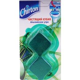 """Chirton чистящий кубик для унитаза """"Альпийское утро"""""""