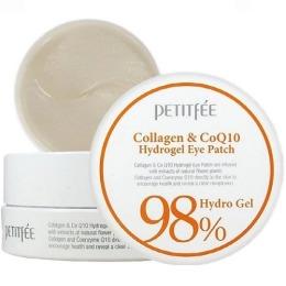 Petitfee патчи для области вокруг глаз с коэнзимом Q10 и 98% содержанием коллагена