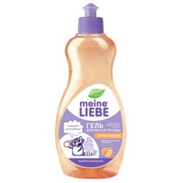 Meine Liebe гель для мытья посуды ''Сочный апельсин'' концентрат, 500 мл