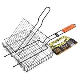 Boyscout решетка-гриль универсальная с антипригарным покрытием 62x30x25x5,5 cм.