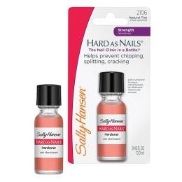 """Sally Hansen Средство для укрепления ногтей """"Hard As Nails Helps"""" укрепляющее, тон Natural Tint, 50 г"""