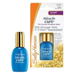 """Sally Hansen Средство для ногтей """"Miracle Cure"""" для укрепления проблемных ногтей, 13,3 мл"""""""