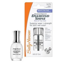 "Sally Hansen Средство для ногтей ""Diamond Strength Diamond Shine"" база и верхнее покрытие, 63 г"