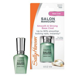 """Sally Hansen Покрытие-база для ногтей """"Salon Manicure Smooth & Strong"""" выравнивающее и укрепляющее, 14,7 мл"""