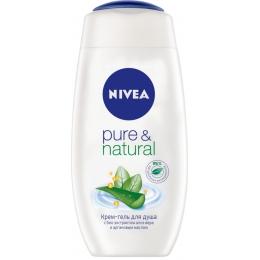 """Nivea крем-гель для душа """"Pure&Natural"""""""