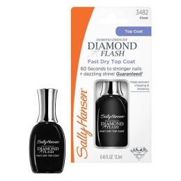 "Sally Hansen покрытие для ногтей ""Diamond Flash"" быстросухнущее, 13,3 мл"