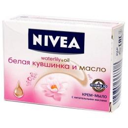 """Nivea крем-мыло """"Белая кувшинка и масло"""""""
