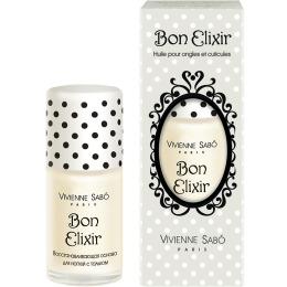 """Vivienne Sabo Основа для ногтей """"Bon Elixir"""" выравнивающая, с тальком, 15 мл"""""""