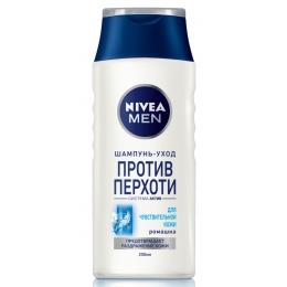 Nivea шампунь против перхоти для чувствительной кожи