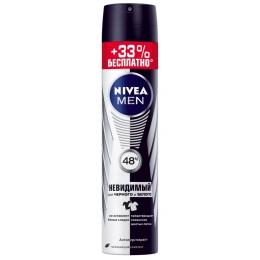 "Nivea антиперспирант для мужчин ""Невидимый"" для черного и белого спрей"
