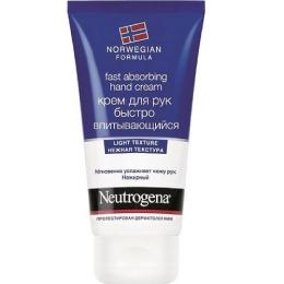 Neutrogena крем для рук Норвежская формула быстро впитывающийся, 75 мл