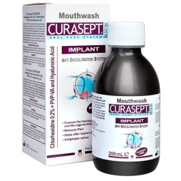 Curasept ополаскиватель хлоргексидин диглюконат ADS IMPLANT MOUTHWASH 0,20%, 200 мл