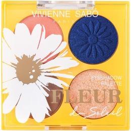 Vivienne Sabo палетка теней Fleur du soleil, тон 02,4.8 г