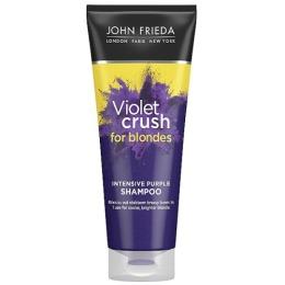 John Frieda интенсивный шампунь с фиолетовым пигментом для нейтрализации желтизны светлых волос VIOLET CRUSH, 250 мл