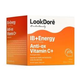 Look Dore легкий тонизирующий крем-флюид IB+ENERGY ANTI-OX VITAMIN C+  CREAM, 50 ml