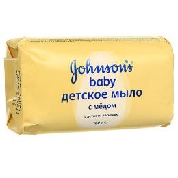 "Johnson`s baby мыло ""С медом"", 100 г"