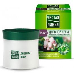 """Чистая Линия крем """"Фито формула с экстрактом толокнянка и маслом шиповника"""" для сухой и чувствительной кожи 55+"""