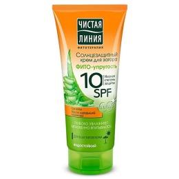 Чистая Линия крем солнцезащитный 10 SPF