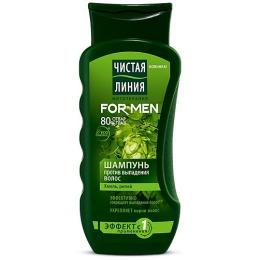 Чистая Линия шампунь для мужчин, против выпадения волос