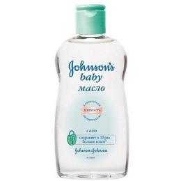 "Johnson`s baby масло ""Детское с алоэ"", 300 мл"