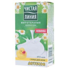 Чистая Линия крем-мыло детское