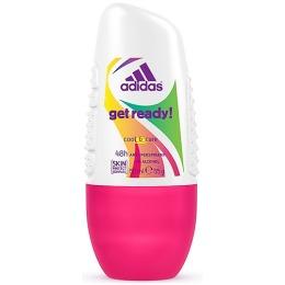 "Adidas антиперспирант ""Get ready! Cool & Care"" ролик для женщин"