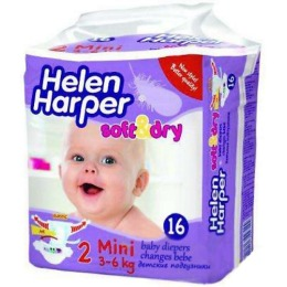 "Helen Harper подгузники ""Soft & Dry. Mini"" 3-6 кг"
