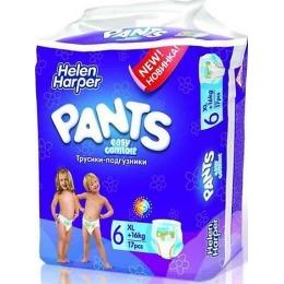 """Helen Harper трусики-подгузники """"Easy Comfort"""" размер XL, 16 кг+"""