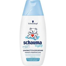 """Schauma шампунь и гель """"Baby"""" для купания, 225 мл"""