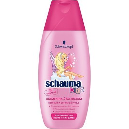 Schauma шампунь и бальзам для девочек, 225 мл